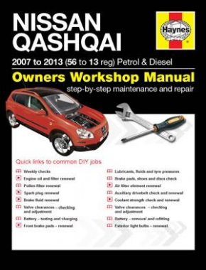 Nissan Qashqai Petrol and Diesel (07 - 13) 56 to 13 Haynes Online Manual