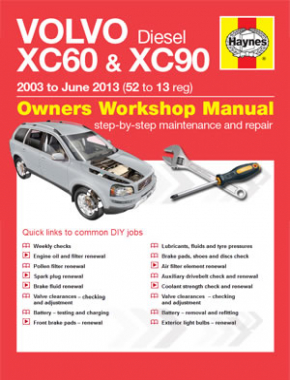 volvo xc60 maintenance manual
