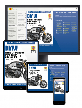 BMW R nineT (14 - 18) Haynes Online Manual