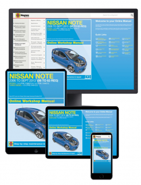 Nissan Note Petrol & Diesel (2006-Sept 2013) 06 to 63 Haynes Online Manual