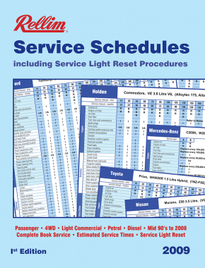 Rellim Service Schedule Vol 1 2009 Edition