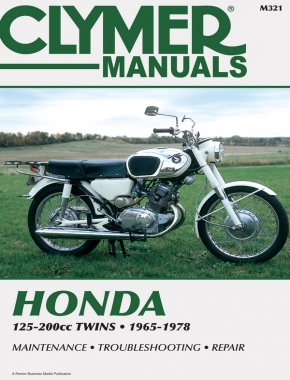 Honda 125-200cc Twins Motorcycle (1965-1978) Service Repair Manual