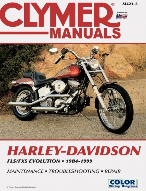 Harley-Davidson FLS-FXS Evolution, Evo Softail, Fat Boy (1984-1999) Service Repair Manual