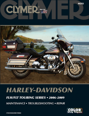 Harley-Davidson Road King, Electra Glide & Screaming Eagle (2006-2009) Clymer Repair Manual