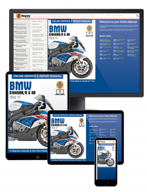 BMW S1000RR/R & XR (10 to 17) Haynes Online Manual