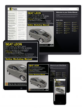 Seat Leon (Sept 05 - Sept 12) 55 to 62 Haynes Online Manual