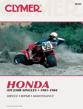 Honda ATC250 Series ATV (1981-1984) Service Repair Manual
