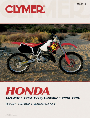 Honda CR125R (1992-1997) & CR250R (1992-1996) Motorcycle Service Repair Manual