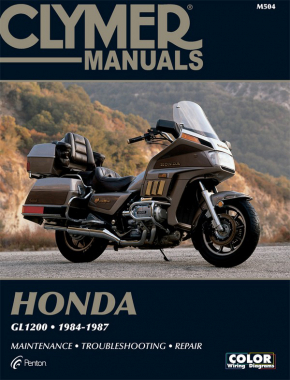 Honda GL1200 Gold Wing Motorcycle (1984-1987) Service Repair Manual