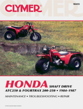 Honda ATC250 & Fourtrax 200-250 (1984-1987) Service Repair Manual