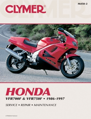 Honda VFR700F & VFR750F Interceptor Motorcycle (1986-1997) Service Repair Manual