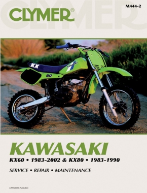 Kawasaki KX60 (1983-2002) & KX80 (1983-1990) Motorcycle Service Repair Manual