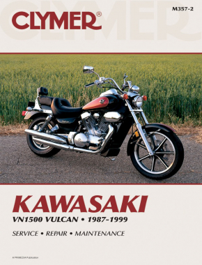 Kawasaki Vulcan 1500 Motorcycle (1987-1999) Service Repair Manual