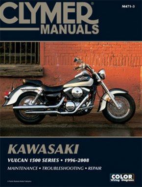 Kawasaki Vulcan 1500 Series Motorcycle (1996-2008) Service Repair Manual