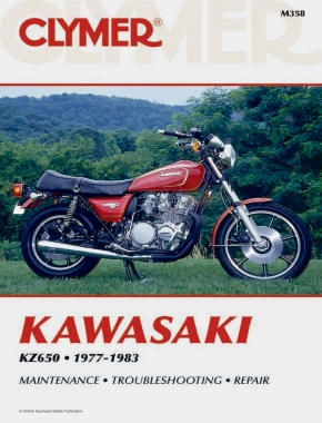Kawasaki KZ650 Motorcycle (1977-1983) Service Repair Manual