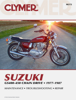 Suzuki GS400-450 Chain Drive Motorcycle (1977-1987) Service Repair Manual