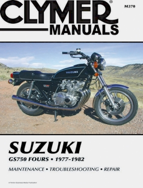 Suzuki GS750 Fours Motorcycle (1977-1982) Service Repair Manual