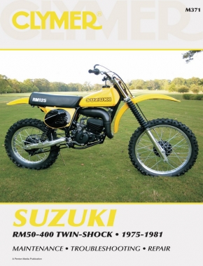 Suzuki RM50-400 Twin Shock Motorcycle (1975-1981) Service Repair Manual