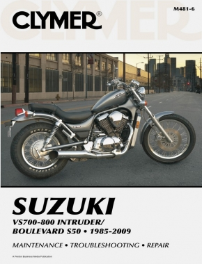 Suzuki VS700-800 Intruder/Boulevard S50 Motorcycle (1985-2009) Service Repair Manual