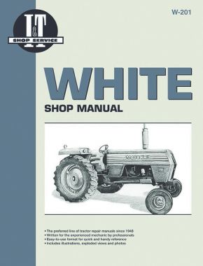 White 2-70 Gasoline & 2-30 to 2-155 Diesel Tractor Service Repair Manual