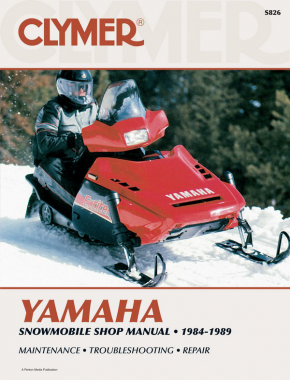Yamaha Snowmobile (1984-1989) Service Repair Manual