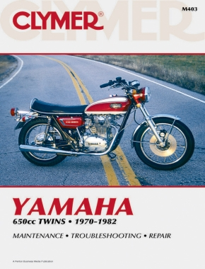 Yamaha 650cc Twins Motorcycle, 1970-1982 Service Repair Manual