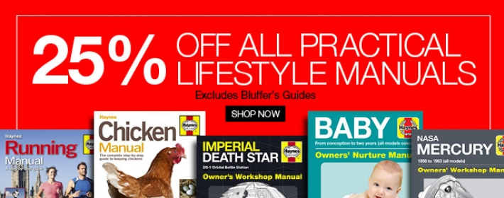 25% off Practical Lifestyle