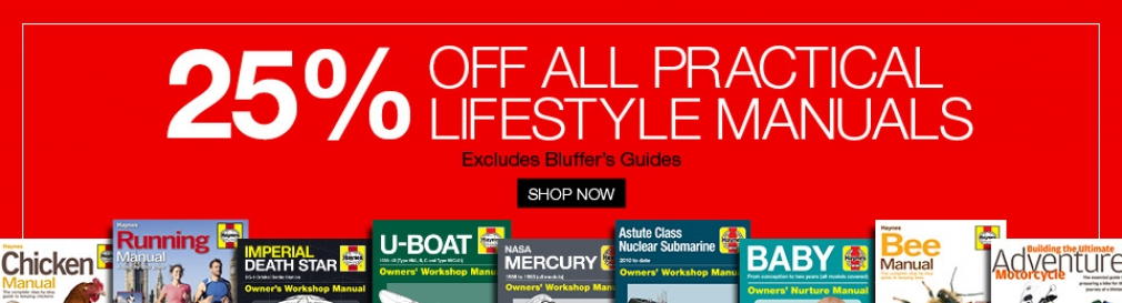 25% off Practical Lifestyle Manuals