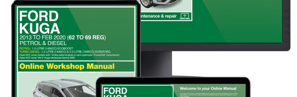 Ford Kuga service guide videos