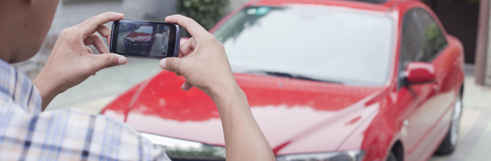 how take picture of car