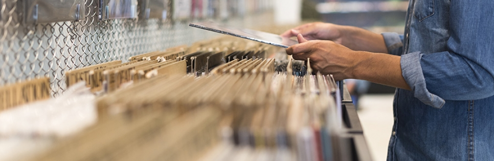 An introduction to 'crate digging' for vinyl