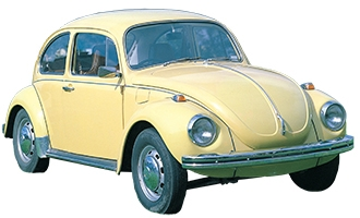 VW Super Bug 1971 to 1975