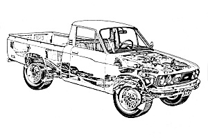 Chevrolet LUV Pick-up