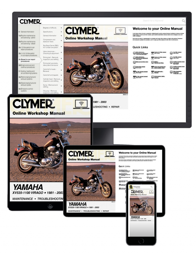 Yamaha XV1100 (1986 - 1999) Repair Manuals on