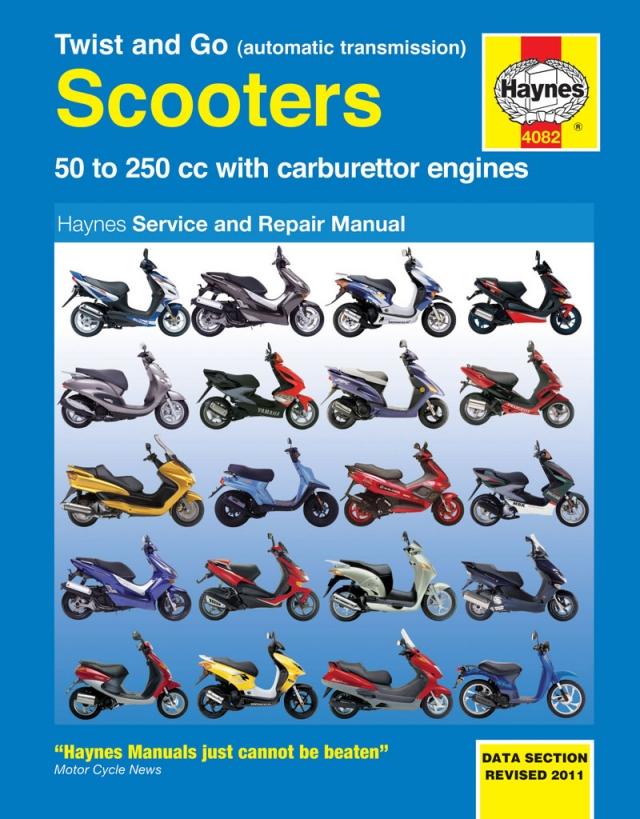 Scv100 Lead Haynes Manuals