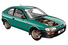 Toyota Corolla 1993 to 1996