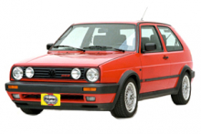 VW Golf Gas