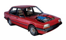 Mazda TX5 1983 to 1990