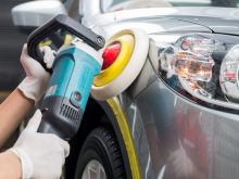 how machine polish a car