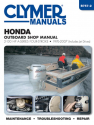 Honda 2-130 HP 4-Stroke Outboards Includes Jet Drives (1976-2005) Service Repair Manual
