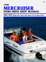 Mercruiser Alpha One, Bravo One, Two & Three Stern Drives (1995-1997) Service Repair Manual