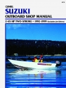 Suzuki 2-65 HP 2-Stroke Outboard & Jet Drive (1992-1999) Service Repair Manual