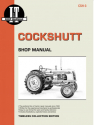 Cockshutt Tractor Models 35 & 40D4 Service Repair Manual