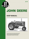 John Deere Gasoline Model 50, 60 & 70 Tractor Service Repair Manual