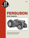Ferguson Model TE20, TO20 & TO30 Tractor Service Repair Manual