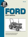 Ford Model 1120-2120 Diesel Tractor Service Repair Manual