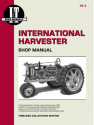 International Harvester (Farmall) Model F12-F30 & W12-W40 Tractor Service Repair Manual