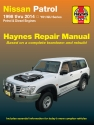 Nissan Patrol (98-14) Haynes Repair Manual