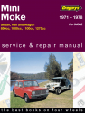 Leyland Mini (71-78), Moke (71-82) Gregorys Repair Manual