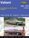 Chrysler Valiant (62 - 70) Gregorys Repair Manual